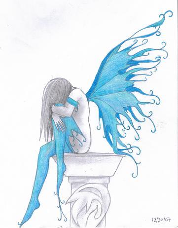 361x462 blue fairy by wolfkaje on deviantart