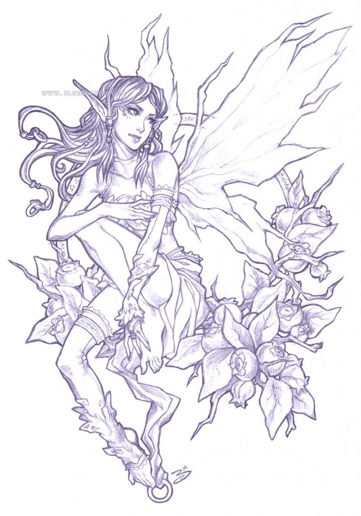 Pencil Drawing Fairies At Getdrawings
