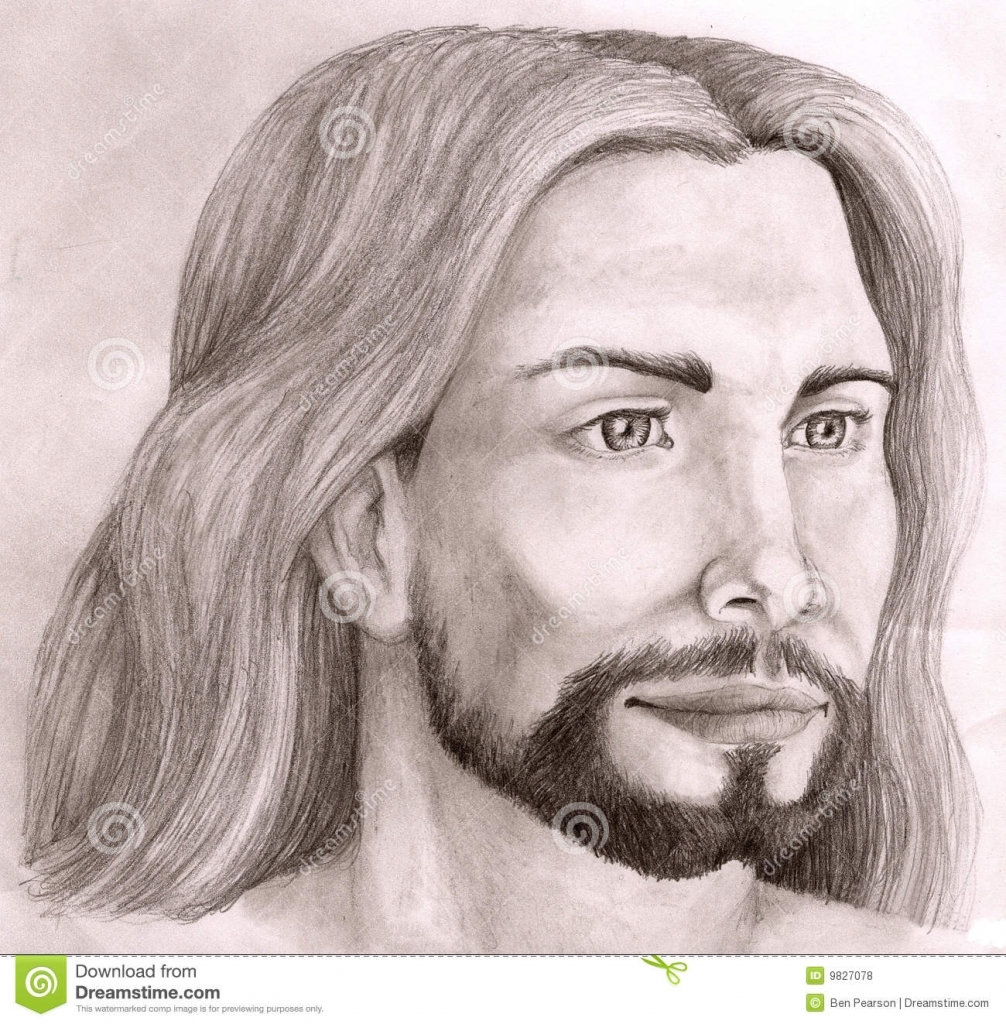 1006x1024 Pencil Drawings Of Jesus Christ Christ Drawing Jesus Pencil Stock