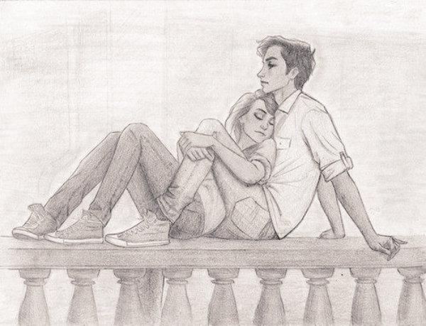 600x459 40 romantic couple pencil sketches and drawings