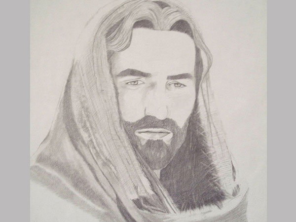 600x450 30 magnificent drawings of jesus
