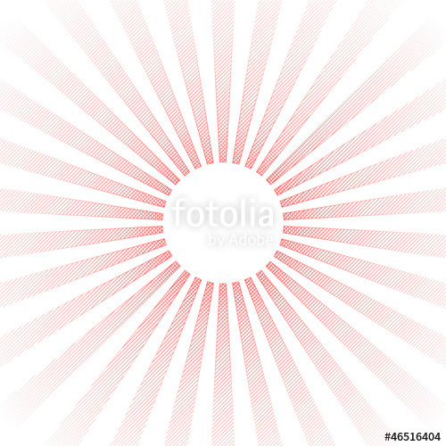 500x500 Red Pencil Drawing Of Sun With Rays Stock Image And Royalty Free