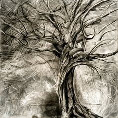 236x236 Charcoal Drawing By Randy Blanchard Drawing Examples (Charcoal