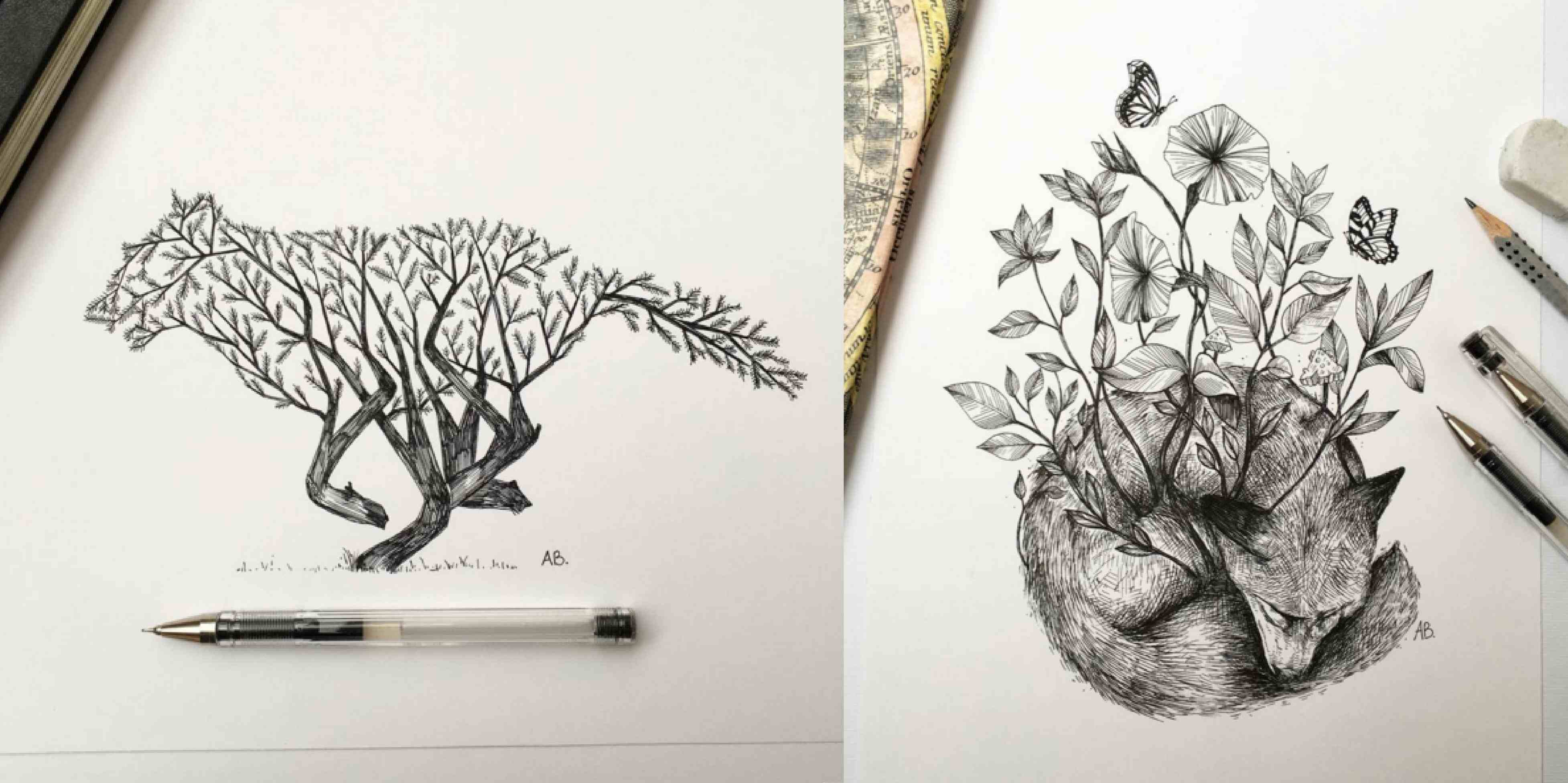 3909x1952 Creative Pencil Drawings Tumblr Creative Pencil Drawings Tumblr