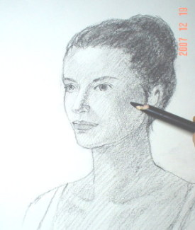275x325 Create A Pencil Drawing Of A Face