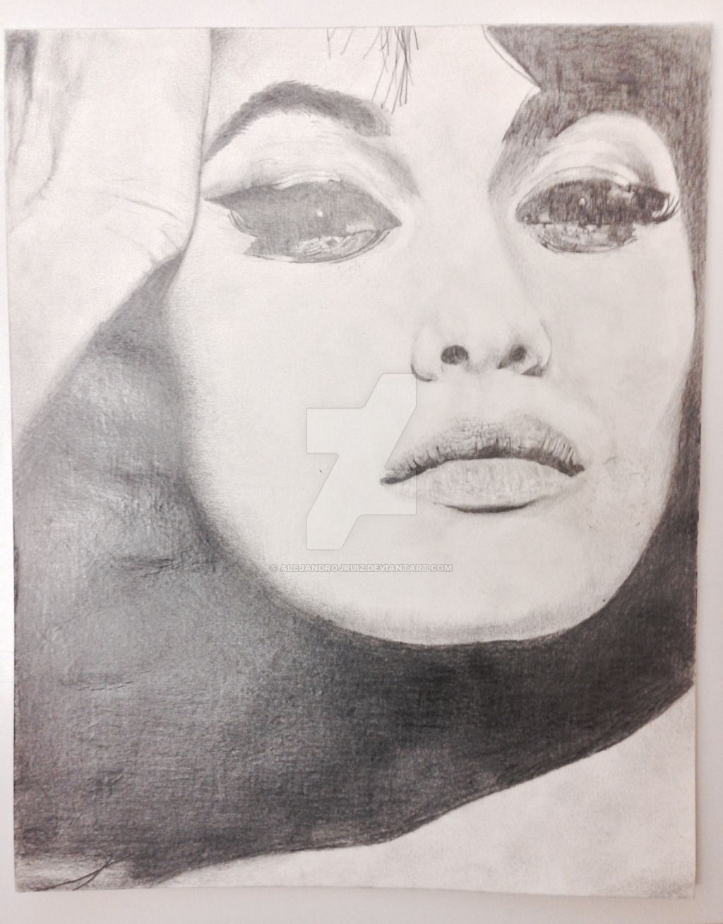 1024x1309 Face Drawing