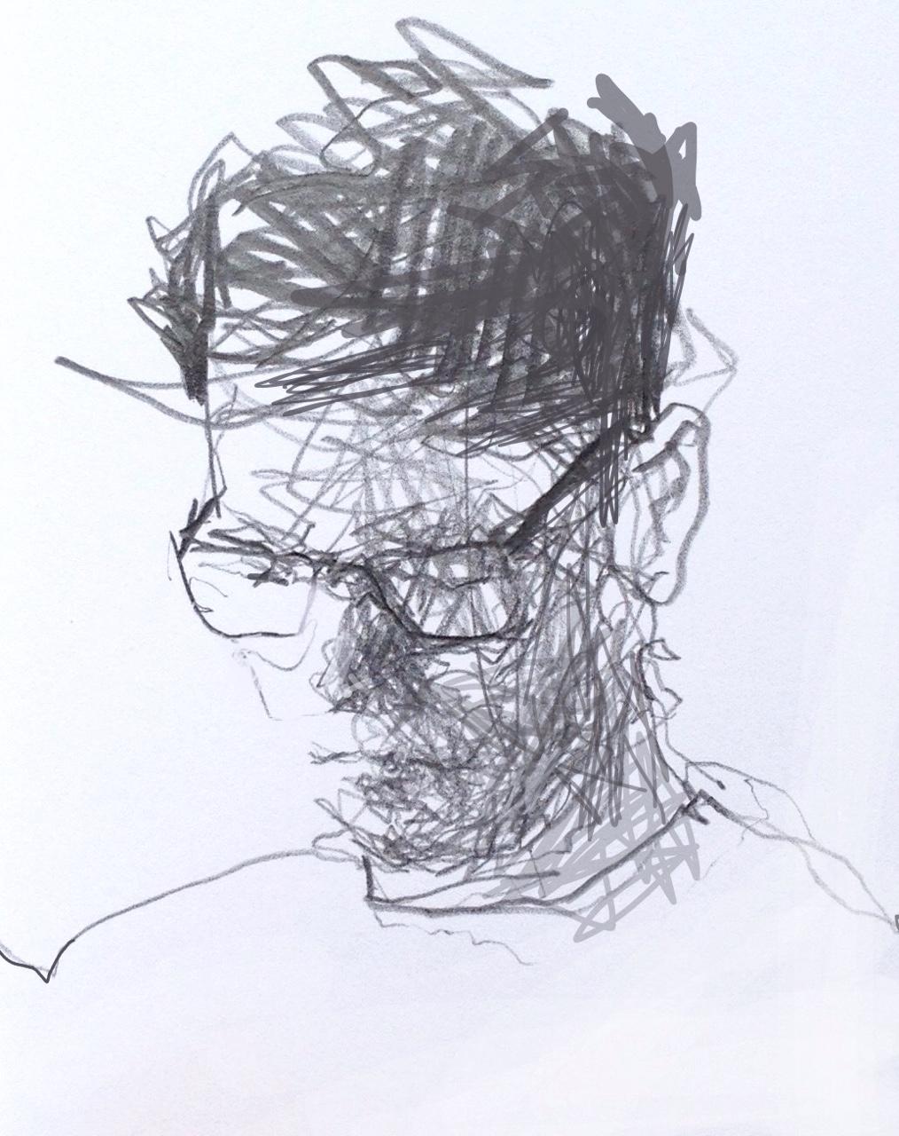 1014x1280 A5 Pencil Coffee Shop Sketch. Drawing A5, Sketches