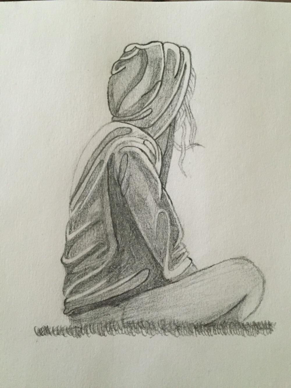 1000x1334 Easy Creative Pencil Drawings Easy Pencil Sketches Of A Couple Sad