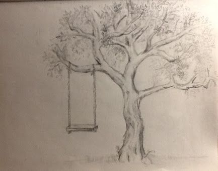 433x339 Tree Pencil Drawing