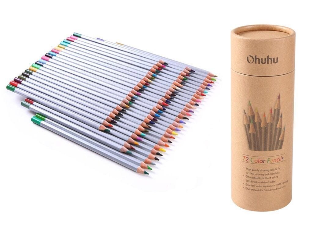1024x768 Colouring Pencils, Ohuhu 72 Color Art Colored Pencils Drawing