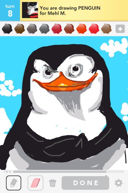 500x750 Penguin Drawings