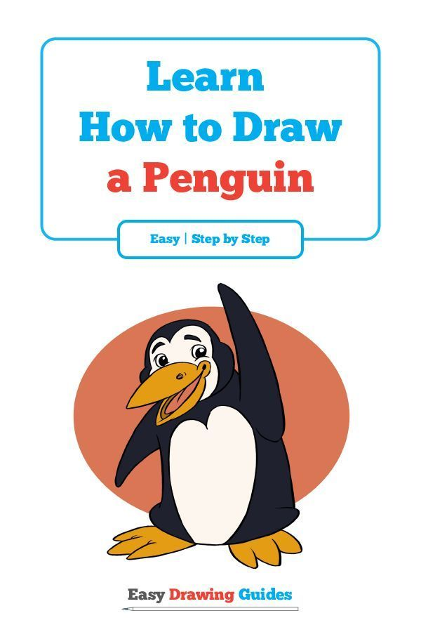 600x900 How To Draw A Penguin Easy And Simple Guide Penguins, Cartoon