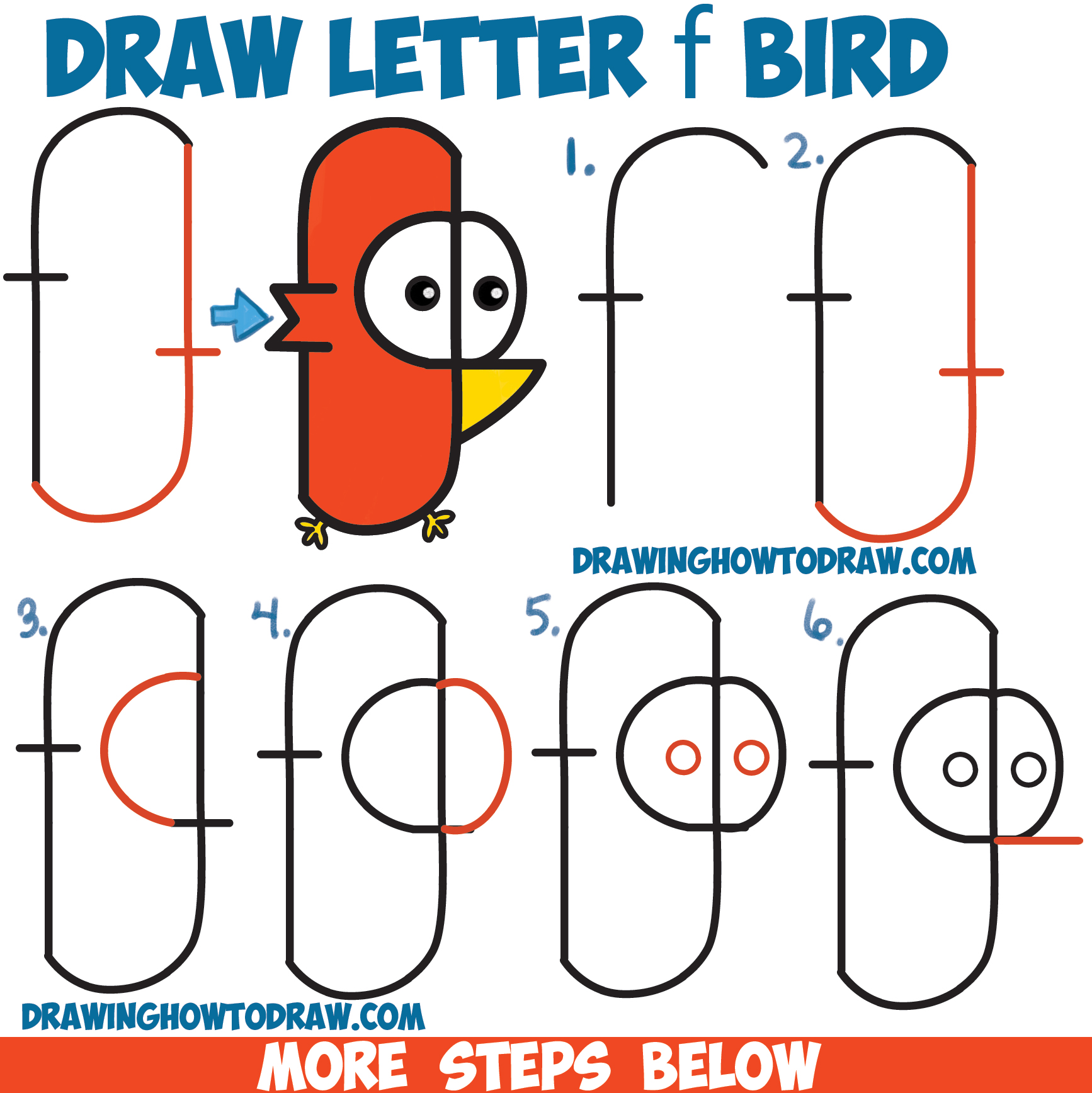 1734x1736 Drawing Step By Step Drawing Cartoons Easy Together With Step By