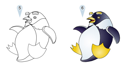 500x270 How To Draw Penguins Drawing Tutorials Amp Drawing Amp How To Draw