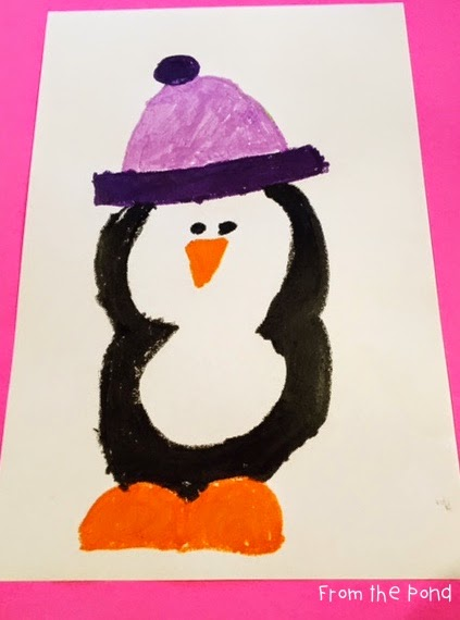423x570 Penguin Art Project From The Pond