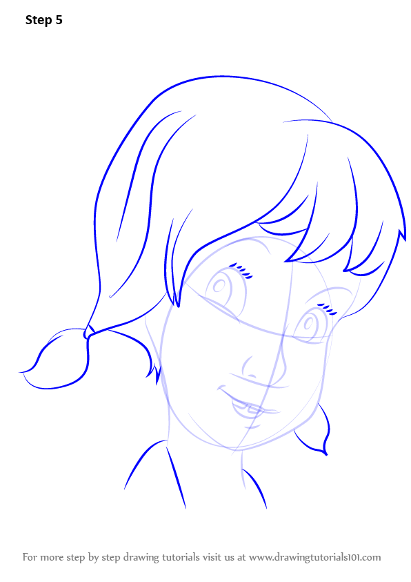 596x843 Learn How To Draw Penny From The Rescuers (The Rescuers) Step By