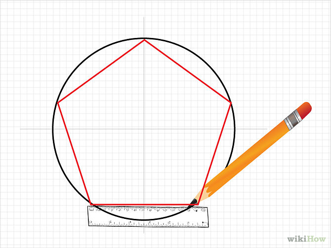 670x503 How To Draw A Pentagon For 5 Pointed Star Porch Decor