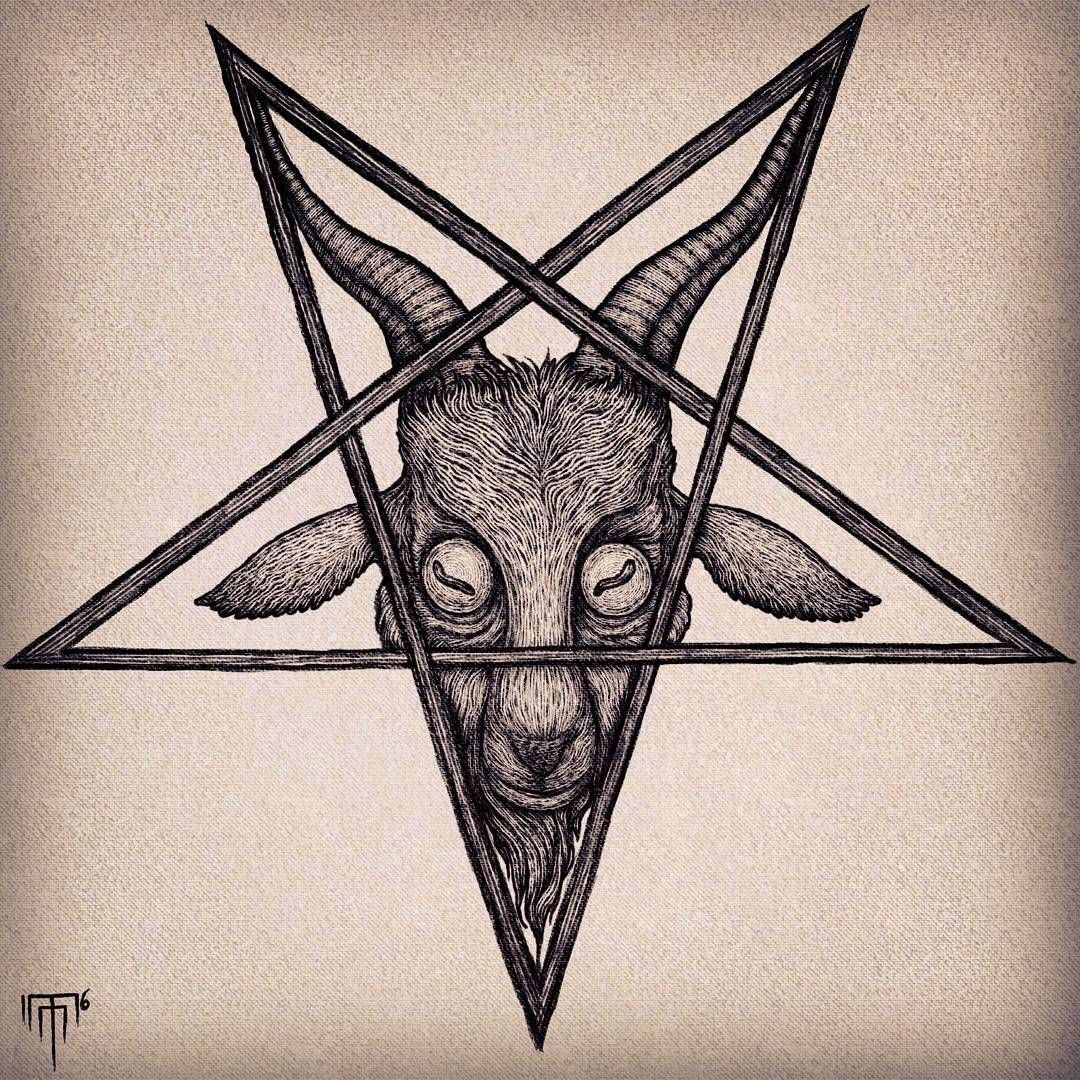 1080x1080 Baphomet By Michaelanthony (@ Grotesquerie)
