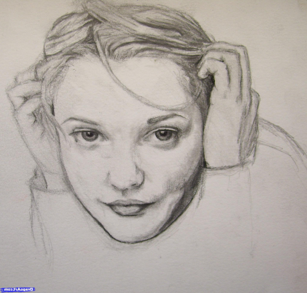 1024x976 Realistic People Sketches Drawing Realistic People Pencil Sketches