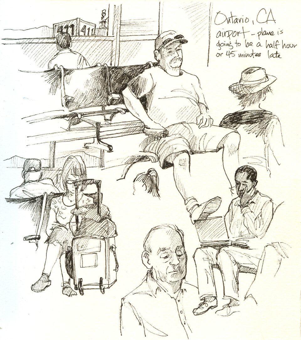 960x1086 Tips! 10 Tips For Drawing People Sketchbook Skool Blog