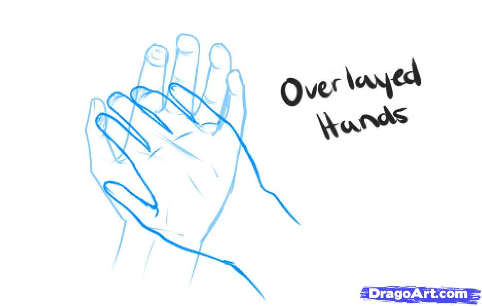 938x596 How To Draw Holding Hands, Step By Step, Hands, People, Free
