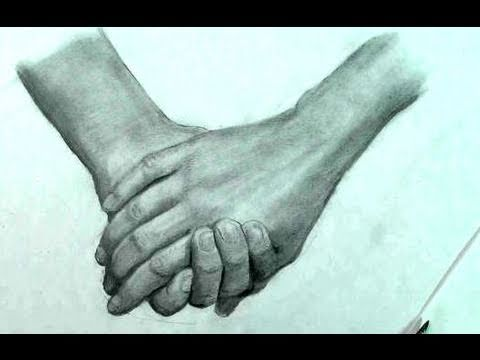 480x360 How To Draw The Hand A Couple Holding Hands