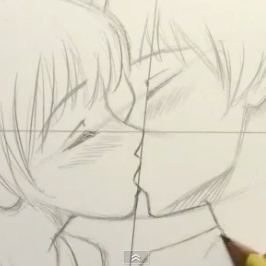 266x266 Comic Book Video Tutorials How To Draw People Kissing