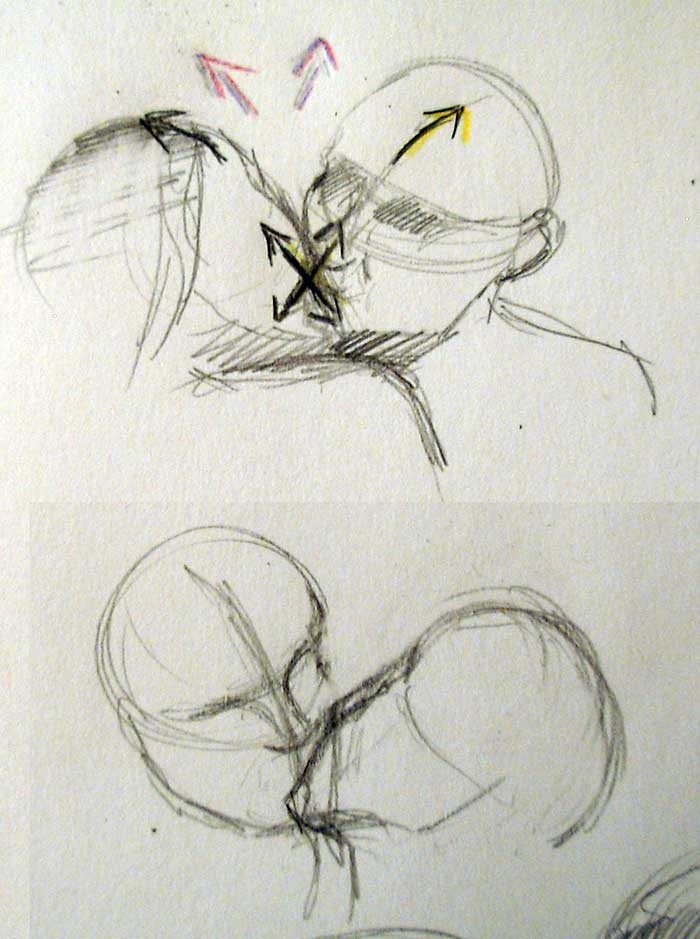 700x939 how to draw people kissing