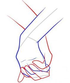 236x279 How To Draw Holding Hands, Step By Step, Hands, People, Free