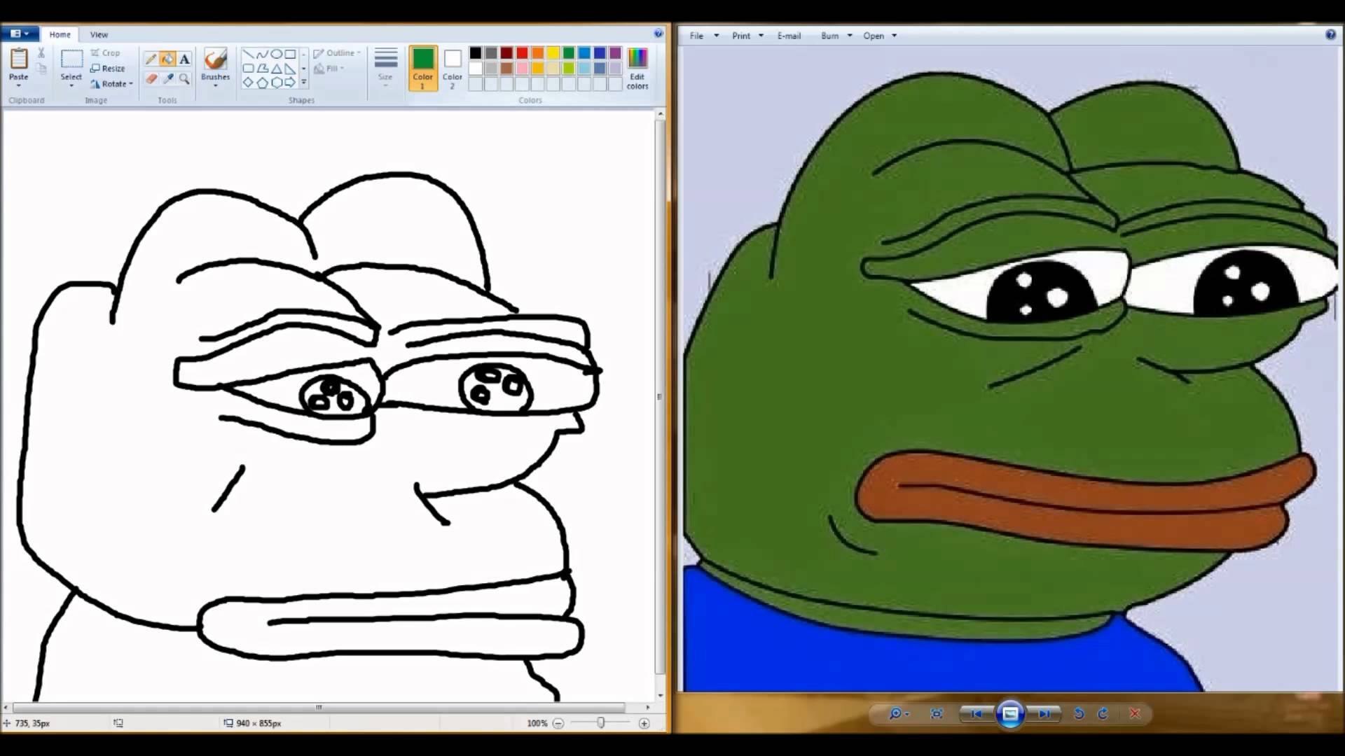 pepe frog drawing at getdrawings com free for personal use pepe