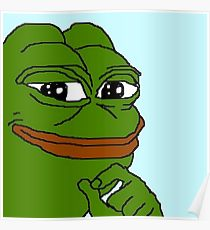 210x230 Pepe Frog Drawing Posters Redbubble