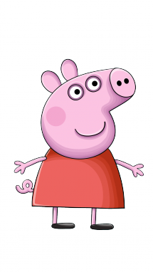 215x382 How To Draw Peppa Pig, Cartoons, Easy Step By Step Drawing Tutorial