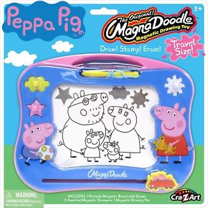 300x300 Peppa Pig Mini Magna Doodle Multi Colour Draw Your Favourite Peppa