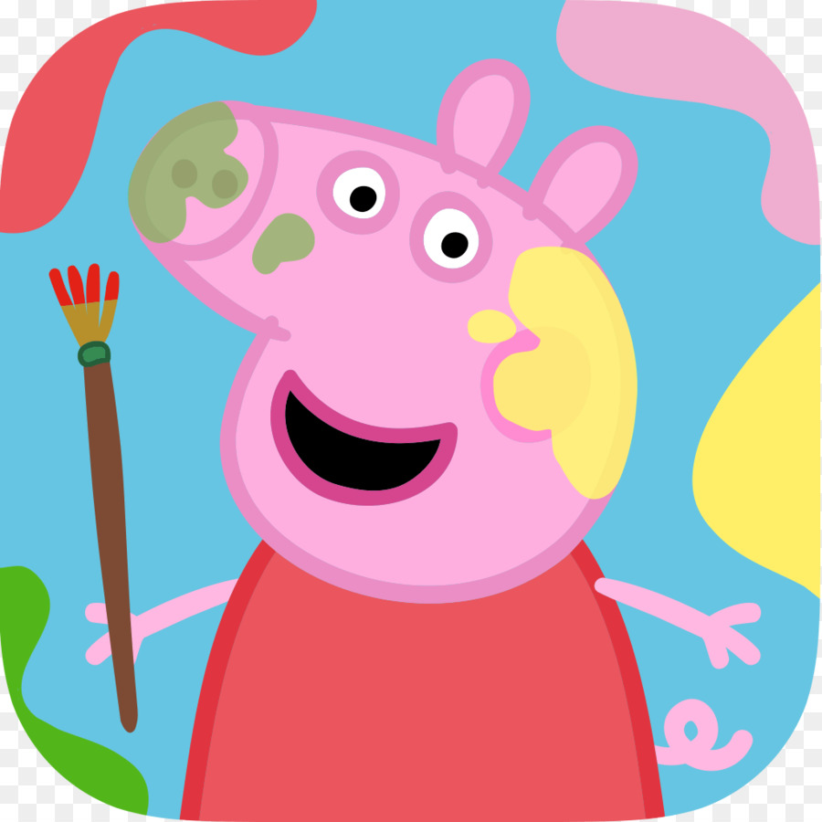 900x900 Peppa Pig Paintbox Peppa Pig Holiday Android Drawing Download