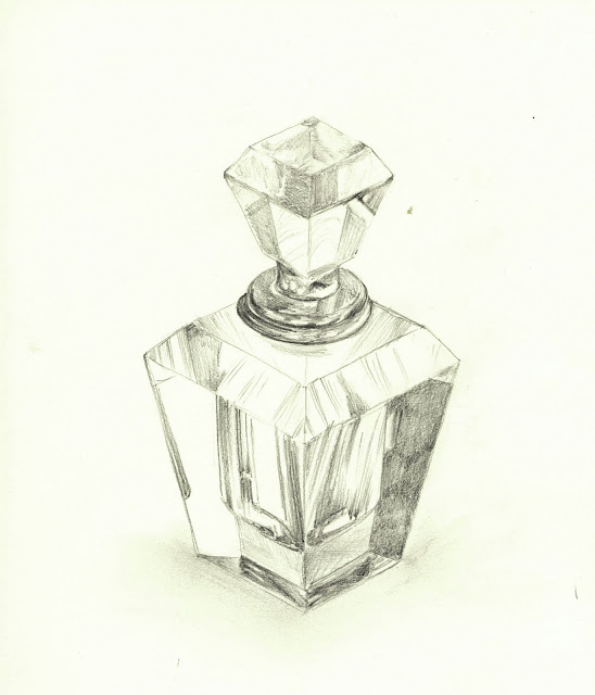 548x640 Gallerysammy Glass Perfume Bottle