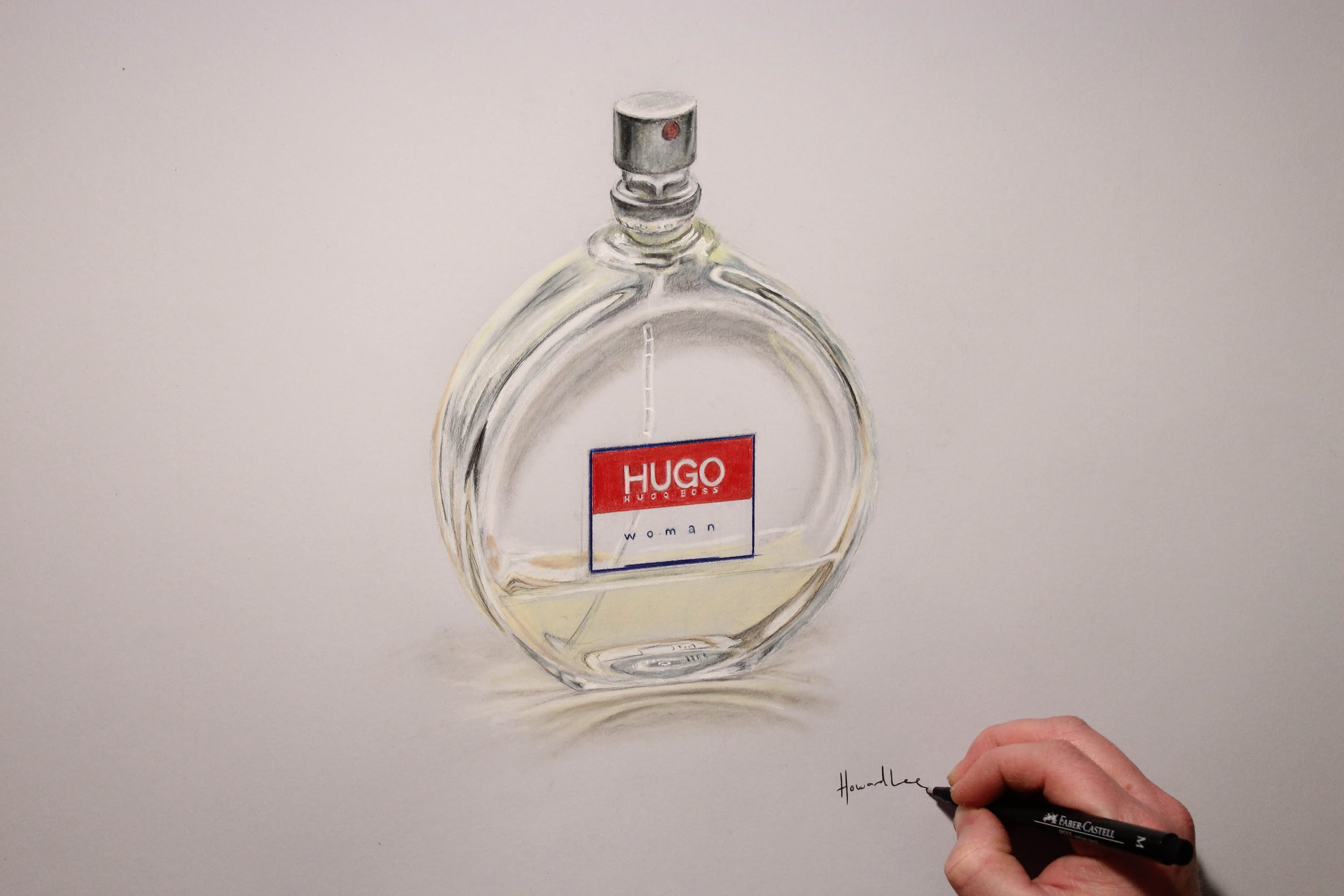 3000x2000 How To Draw A Perfume Bottle