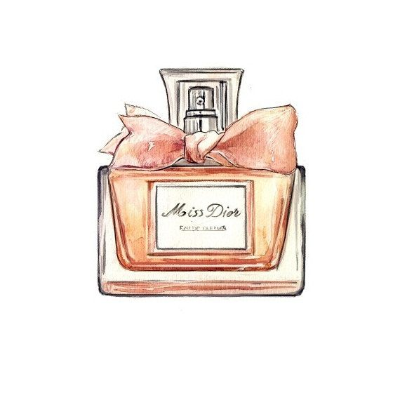 Free For Personal Use Perfume Bottle Drawing Of Your