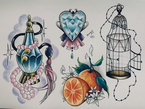500x375 Perfume Bottle Tattoo Tumblr