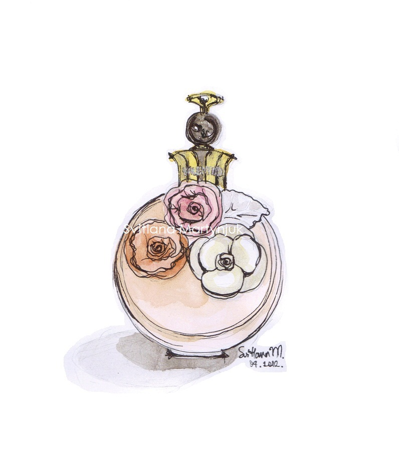 796x900 Perfume Bottle Drawing Valentina Illustration Perfume Bottles