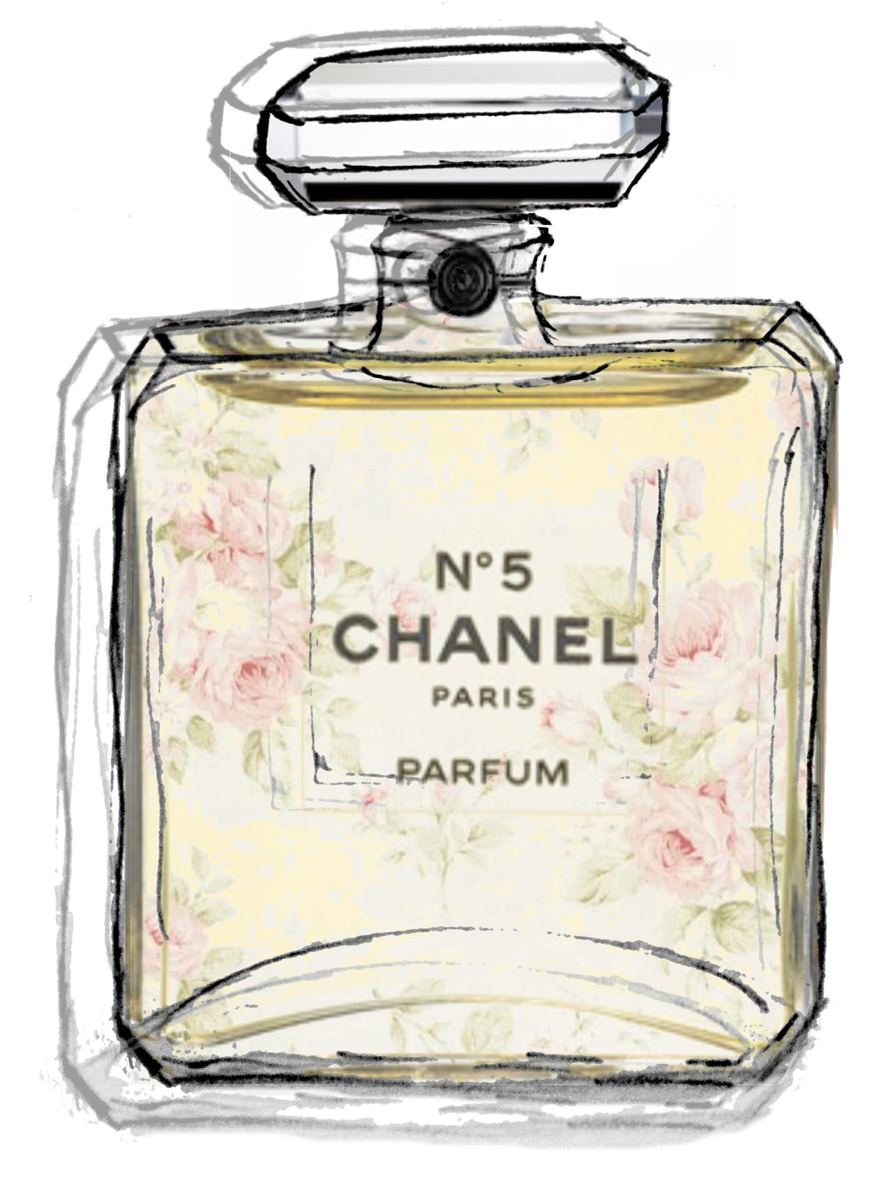 1280x1705 Trends For Gt Chanel Perfume Bottle Drawing