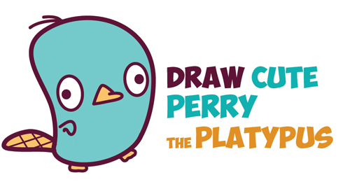 Perry Platypus Drawing at GetDrawings.com | Free for personal use ...