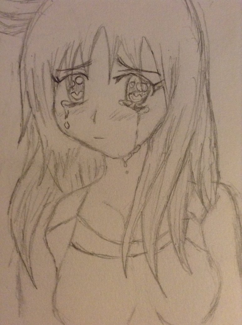 772x1034 Crappy Drawing Of Someone Crying By Dawniskawaii