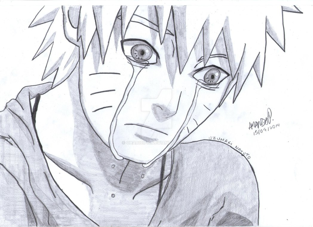 1048x762 Don'T Cry, Naruto Kun ~ By Char1cific