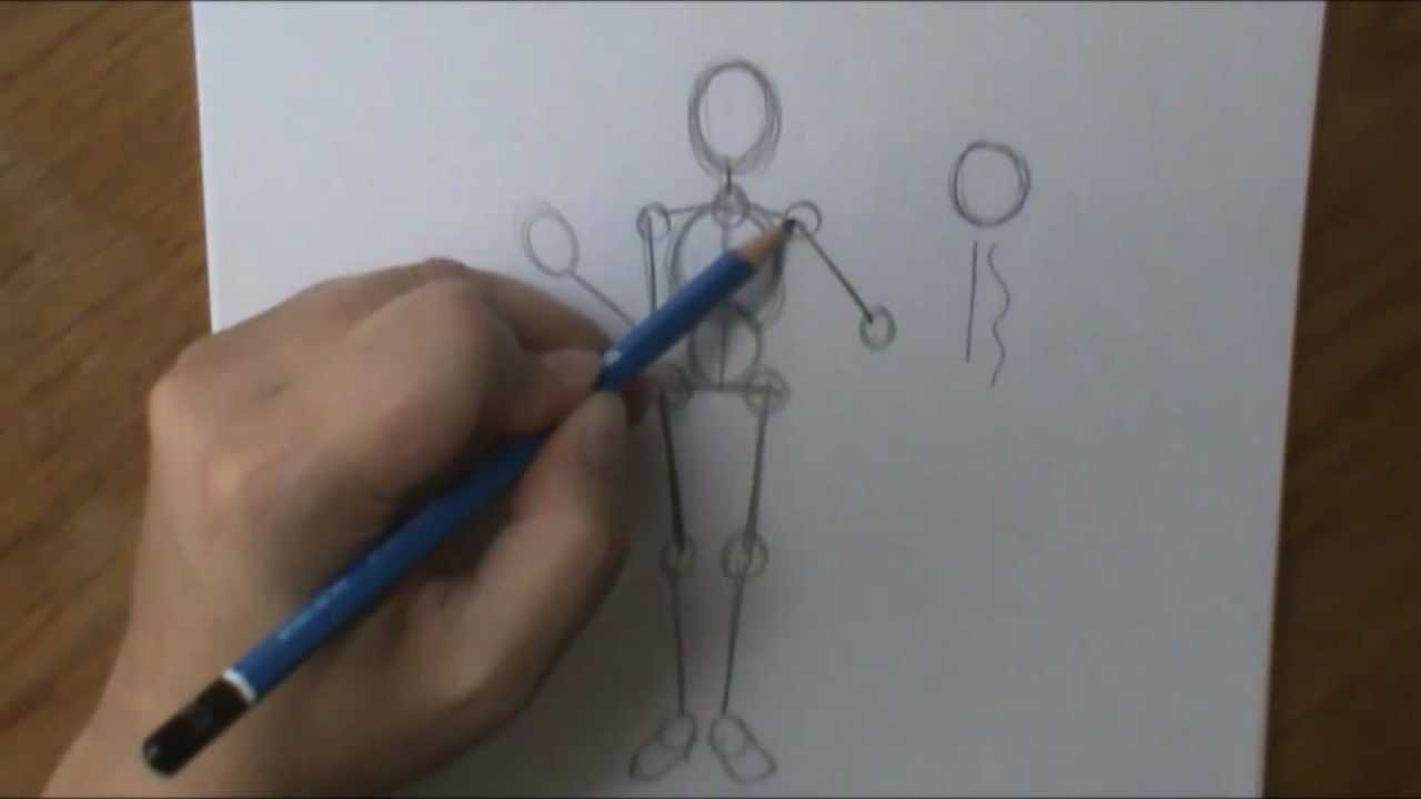 1280x720 How To Draw A Person Pt1