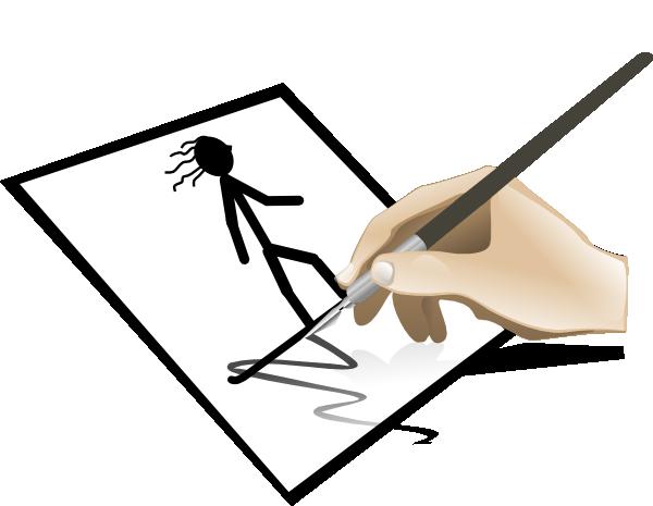 600x465 Draw Clip Art