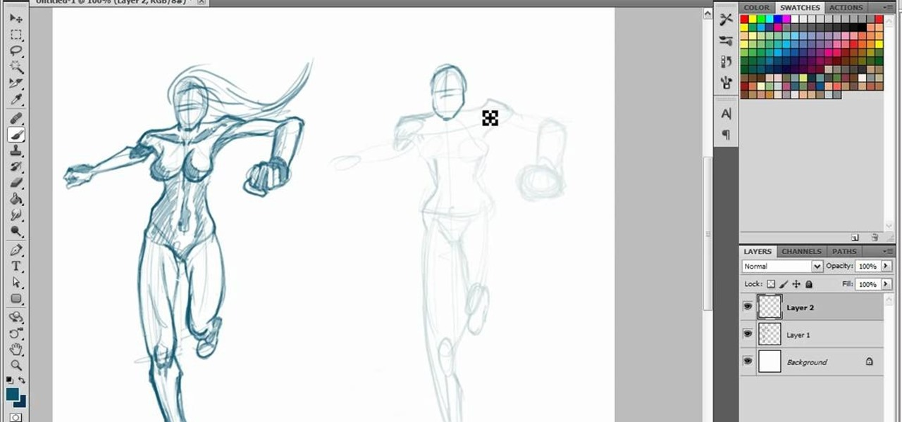 1280x600 How To Draw A Realistic Picture Of A Person Running