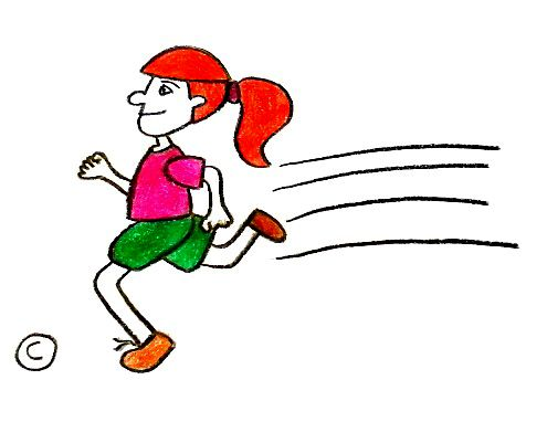 495x382 Inspirational Cartoon People Running The Gallery For Person