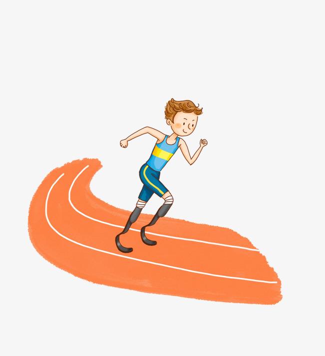 650x711 Runners Running On The Track, Cartoon Hand Drawing, Run, Marathon