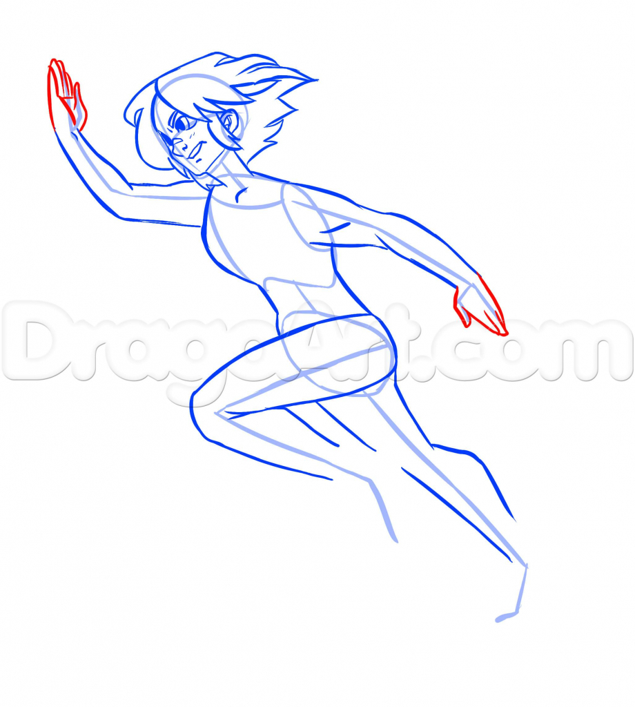 920x1024 Someone Running Drawing Drawing Of Person Running How To Draw