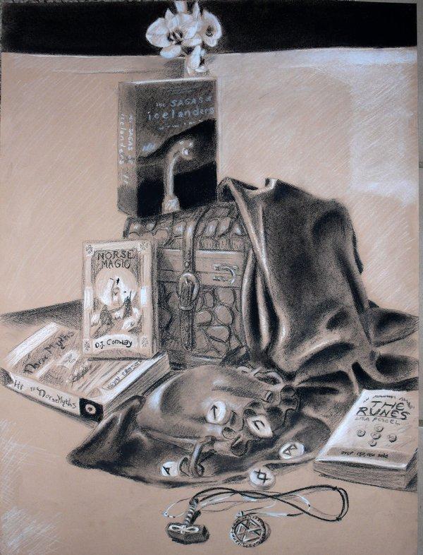 600x786 Drawing I Personal Still Life By Bonniehorton